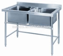 used stainless steel table with sink for sale restaurant used commercial stainless steel kitchen sink