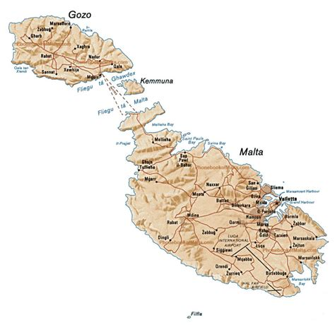 map  malta malta maps mapsofnet