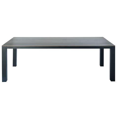 table de jardin 8 personnes table de jardin 8 10 personnes en aluminium gris