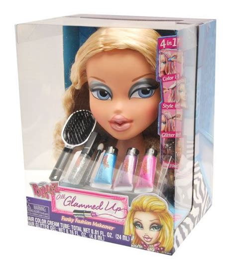 hair styling dolls makeup and hair styling doll bratz all glammed up