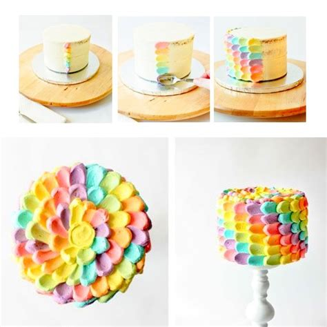 comment faire decoration pour gateau id 233 e de d 233 coration d un rainbow cake