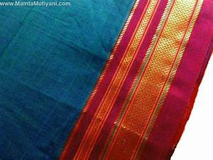Teal Blue Indian Sari Fabric By The Yard - Unique Fabrics