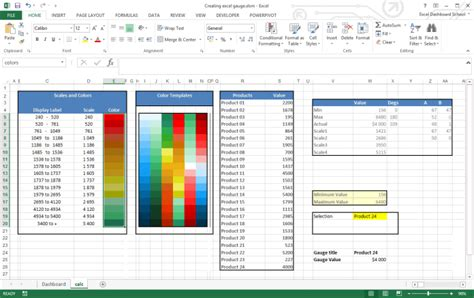 create gauge chart  excel training   add