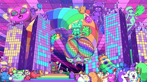 The End Trippy Pixel Art By Paul Robertson