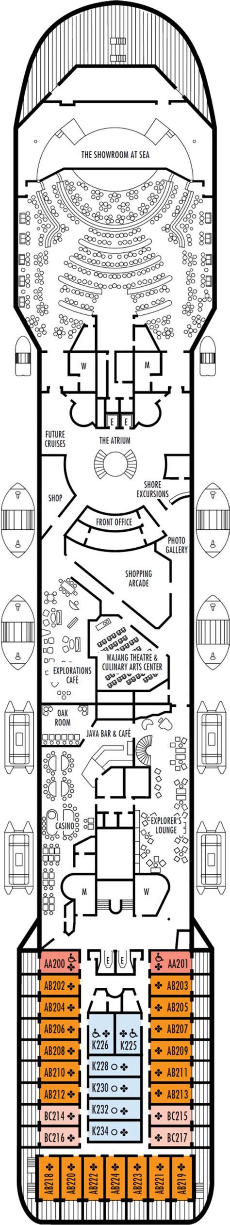 prinsendam deck plans