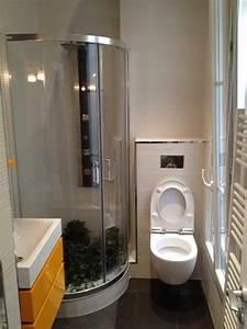 Salle De Bain 3m2 : ide petite salle de bain 3m2 ides ~ Dallasstarsshop.com Idées de Décoration