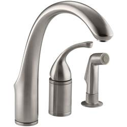 high arch kitchen faucet kohler forte single handle standard kitchen faucet with