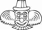 Coloring Circus Trapeze Artist Clown Freecoloringpagefun Drawing Colouring Clowns sketch template