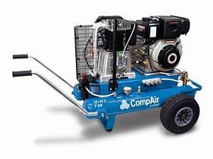 Accessoire Pour Compresseur D Air : compresseur d 39 air pistons mobile de chantier compair ~ Edinachiropracticcenter.com Idées de Décoration