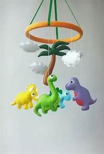 Mobile Baby Diy : dinosaur mobile crib mobile mobile hanging baby crib by zootoys baby crib mobile pinterest ~ Buech-reservation.com Haus und Dekorationen