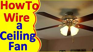 Wiring Diagram Ceiling Fan With Light - Database