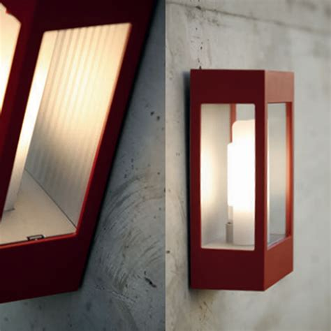rp108001110 brick outdoor wall light tomato national lighting