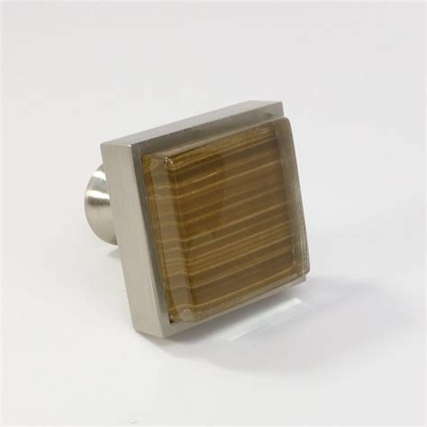 square kitchen cabinet knobs crystal glass brushed nickel square knob modern cabinet