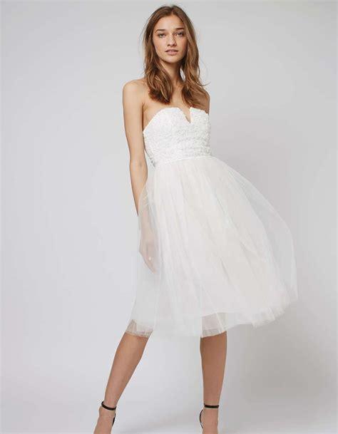 robe de mari 233 e courte en tulle topshop les plus belles robes de mari 233 e courtes