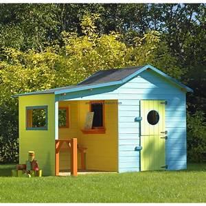 Maison Bois Pour Enfant : maisonnette bois enfant l 39 hacienda maisonnette ~ Premium-room.com Idées de Décoration