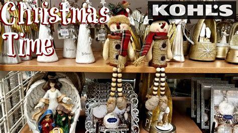 kohls christmas gifts shop with me kohl s decor 2017