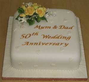 Golden wedding anniversary cakes ideas idea in 2017 for Golden wedding anniversary gift ideas