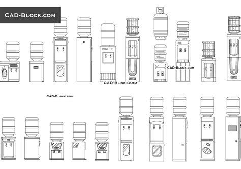 Dispense Autocad by Pin Dispenser Block On