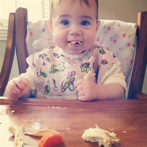 The Mini Traveling Cupcake Notes On Baby Led Weaning Blw