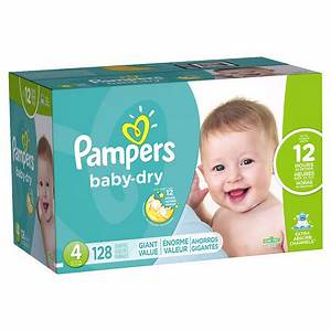 Pampers Baby Dry Diapers Size 4 Giant Pack | Walgreens