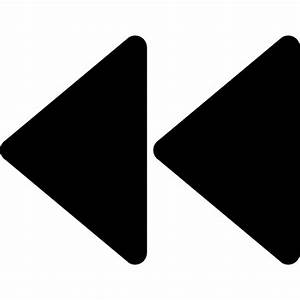 rewind symbol - Free multimedia icons