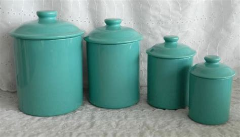 teal kitchen canisters 17 best images about kitchen canisters on jars