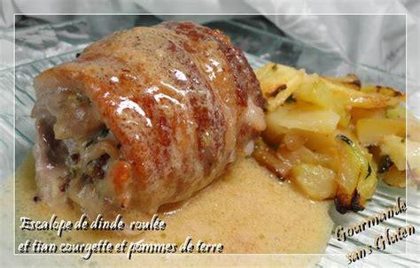 que cuisiner avec de la viande hach馥 escalope de dinde roulée à la viande hachée recette