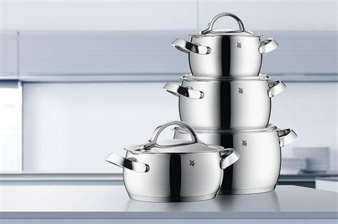 wmf concento stainless steel cookware set  piece cutlery