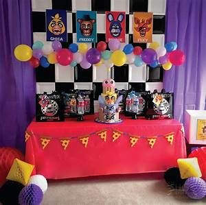 Five Nights At Freddy's Birthday Party Ideas | Noite ...