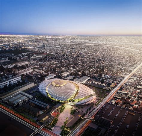 la clippers unveil plans   inglewood arena sports