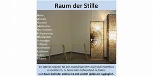 Ruhe Und Raum : universit t paderborn nachricht offenes angebot f r ~ Watch28wear.com Haus und Dekorationen