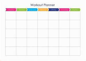6 workout calendar template cashier resume With exercise calendar template free