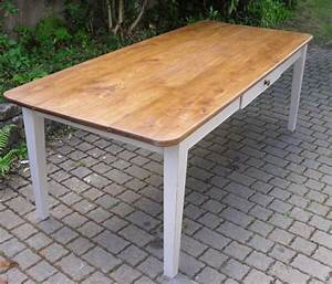 Exceptionnelle grande table en orme pour salle a manger for Grande table de salle à manger