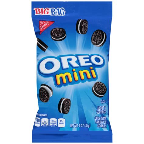 upc  nabisco  oz mini oreos cookies