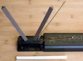 spyderco sharpmaker kitchen knives spyderco sharpmaker review knife informer