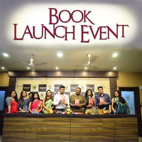 book launch event     book launch