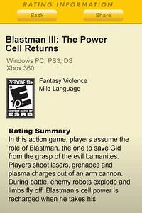 New esrb app finds game ratings for parents in a snap for New esrb app finds game ratings for parents