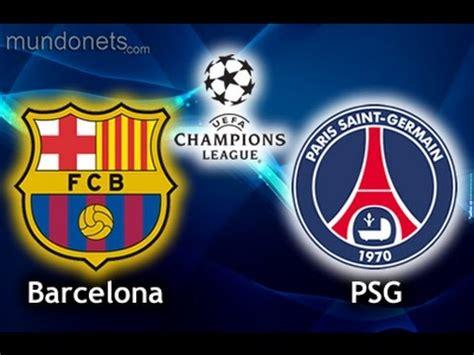 FIFA 2015 (PC) gameplay full match Barcelona VS PSG - YouTube