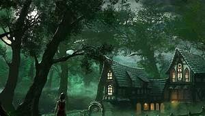 Fantasy Forest House HD Wallpapers