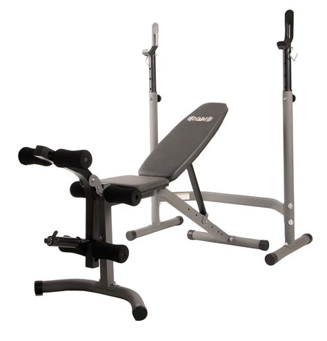 Body Champ Olympic Weight Bench (2piece