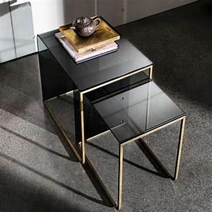 Table Basse Gigogne Verre : table basse gigogne en verre nido 4 ~ Teatrodelosmanantiales.com Idées de Décoration