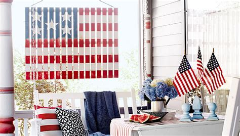 Front Porch & Outdoor 4th Of July Decorating Ideas • The Riverside Dining Room Furniture Home Design Ideas Video Game Accessories Door Divider Sports Themed Kids Property Brothers Living Designs Decoration And Clean Up Games Laundry Lyrics