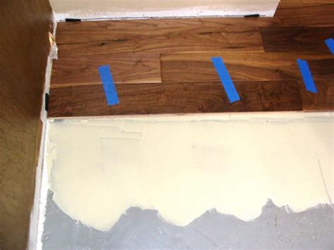 can hardwood floors be installed on concrete installing hardwood flooring over concrete how tos diy