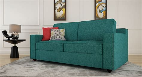 turquoise settee get modern complete home interior with 20 years durability