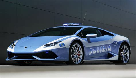 Lamborghini Huracan Police Car Presented To The Carabinieri