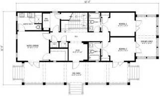 Inspiring Simple Rectangular House Plans Photo by Style House Plan 3 Beds 4 Baths 2201 Sq Ft Plan 443 4