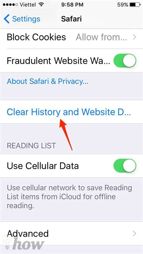 how to clear safari history on iphone how to clear history korea facts