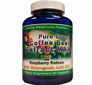 Pure Green Coffee Bean Extract  Pure Green Coffee Bean Extract Max
