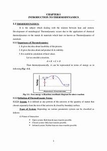 Metallurgical Thermodynamics  U0026 Kinetics Lecture Notes