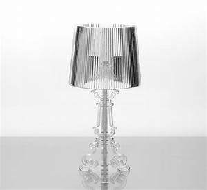 Lampe A Poser Design : lampe poser design noir ou transparent glory ~ Preciouscoupons.com Idées de Décoration